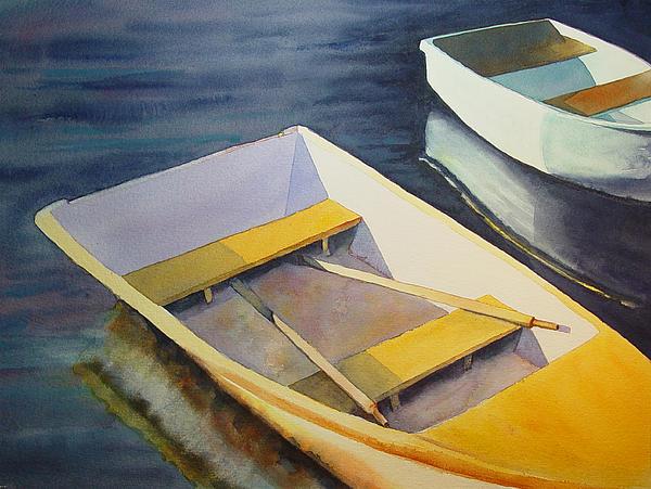 Rowboats Print by Sarah Buell  Dowling