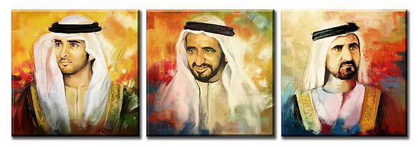 Royal Collage Print by Corporate Art Task Force