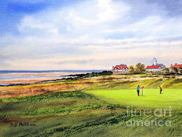 Royal Liverpool Golf Course Hoylake Print by Bill Holkham