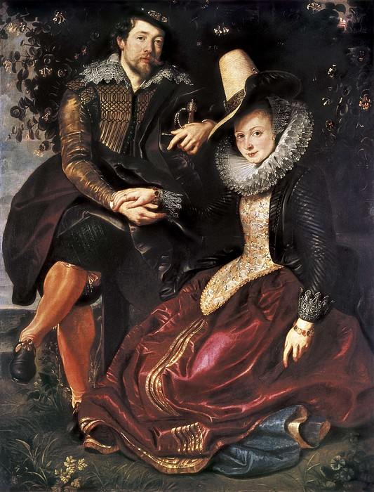 Rubens, Peter Paul 1577-1640. Rubens Print by Everett