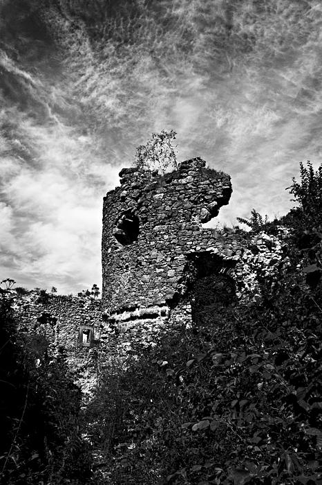Ruined Tower Photograph