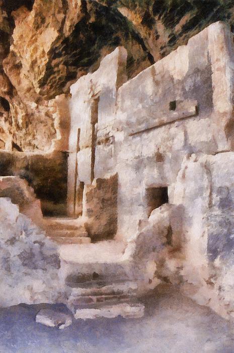 Ruins Print by Michelle Calkins