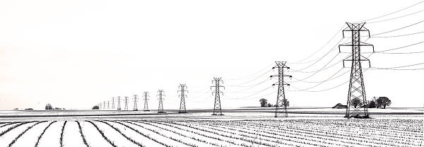 Rural Power Print by Steve Gadomski