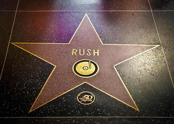 Rush Has A Star Print by April Reppucci