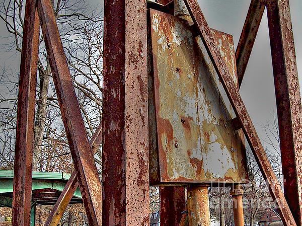 Rust Print by MJ Olsen
