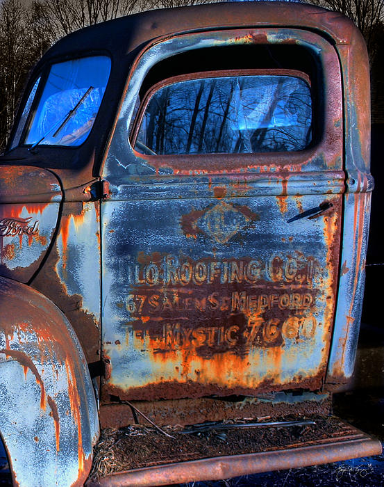 Rust Never Sleeps Print by Wayne King