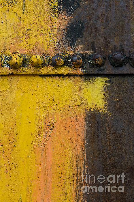 Rusting Machinery Print by John Shaw