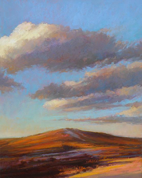 Sacred Dune Print by Ed Chesnovitch