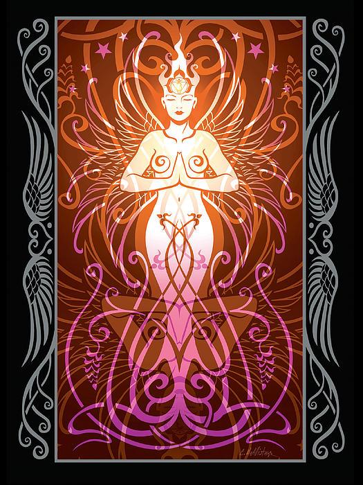 Sacred State V.2 Print by Cristina McAllister