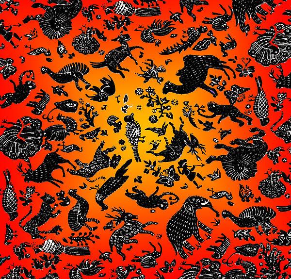 Safari Pattern 3 Print by John Keaton