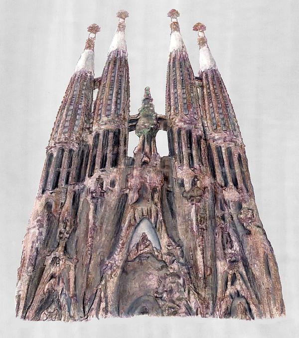 Sagrada Familia Barcelona Print by Gerald Blaikie