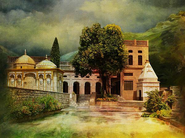 Saidpur Village Print by Catf