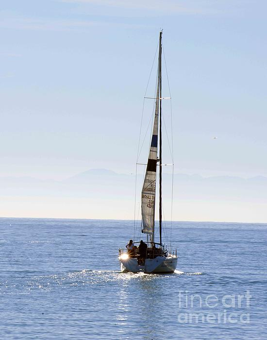 Sail Into The Future Print by Artist and Photographer Laura Wrede