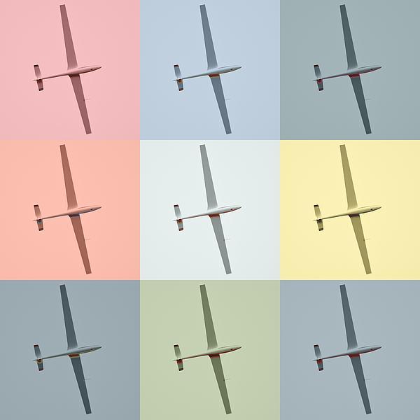 Sail Plane  Print by Toppart Sweden
