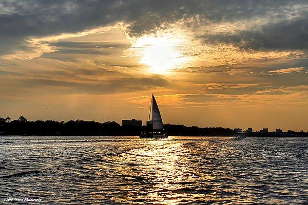 Debra Forand - Sailing Into The Sunset