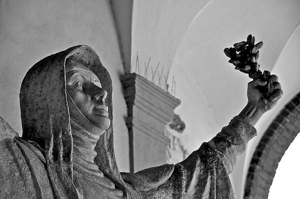 Saint Catherine Of Siena Print by Leslie Lovell