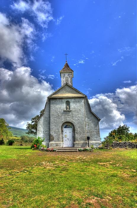Saint Joeseph's Church Maui  Hawaii Print by Puget  Exposure