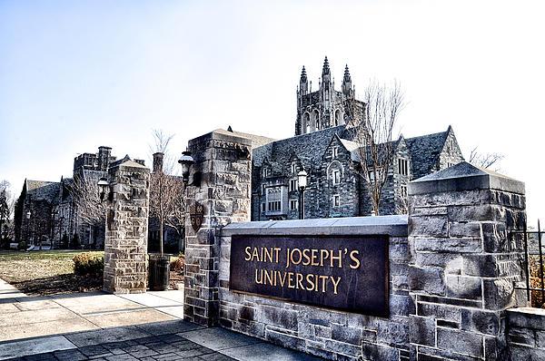 Saint Josephs University Print by Bill Cannon