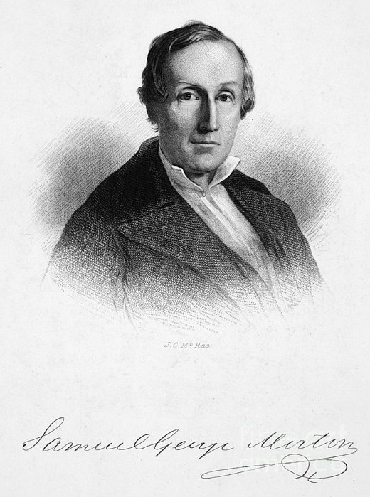 Samuel George Morton Print by Granger