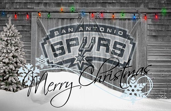 San Antonio Spurs Print by Joe Hamilton