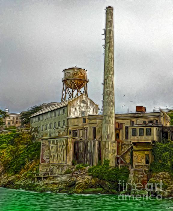 San Francisco - Alcatraz - 03 Print by Gregory Dyer