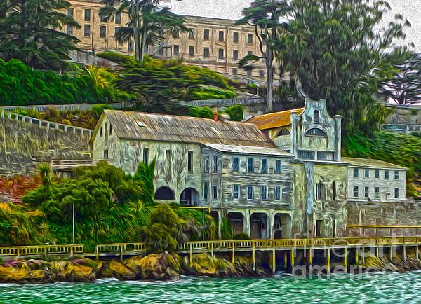 San Francisco - Alcatraz - 06 Print by Gregory Dyer