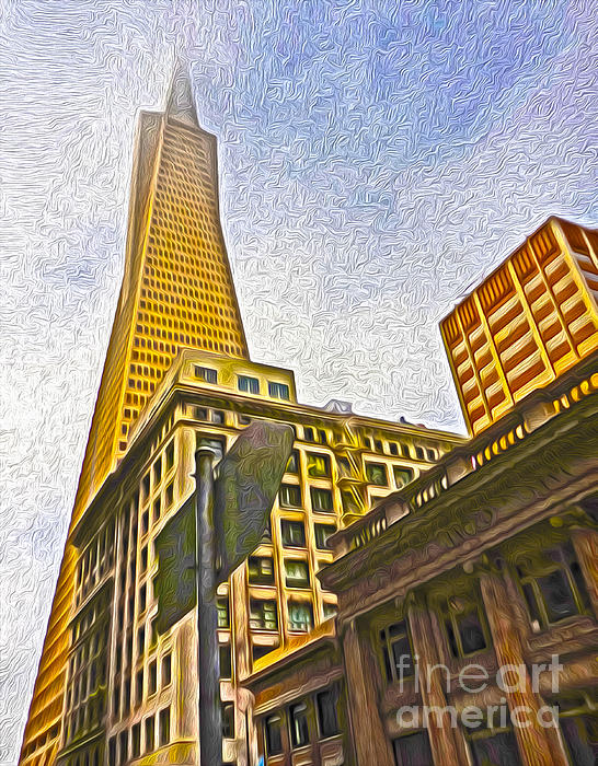 San Francisco - Cityscape - 05 Print by Gregory Dyer
