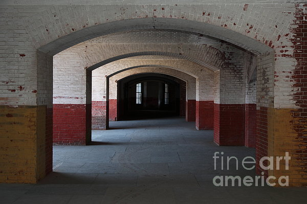 San Francisco Fort Point 5d21544 Print by Wingsdomain Art and Photography