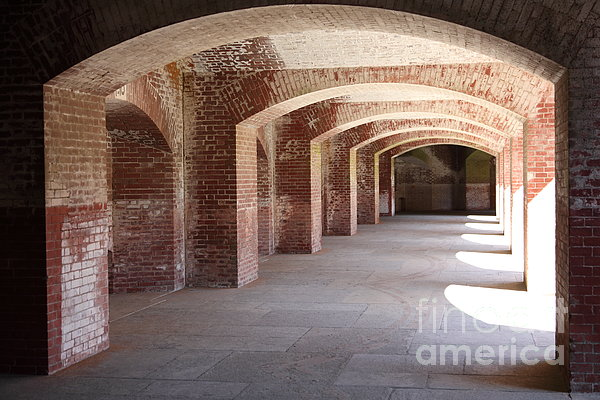 San Francisco Fort Point 5d21545 Print by Wingsdomain Art and Photography