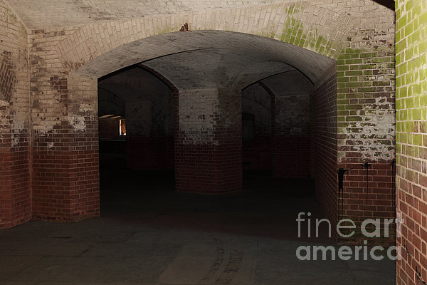 San Francisco Fort Point 5d21548 Print by Wingsdomain Art and Photography