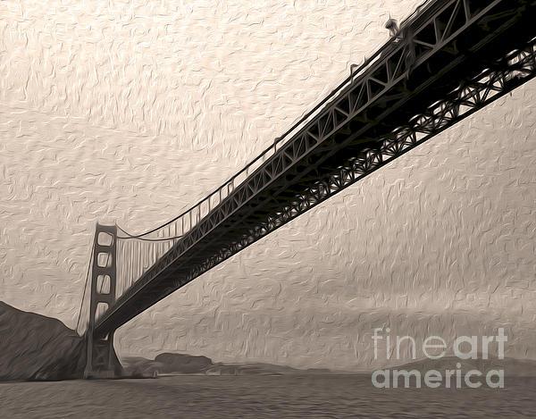 San Francisco - Golden Gate Bridge - 05 Print by Gregory Dyer