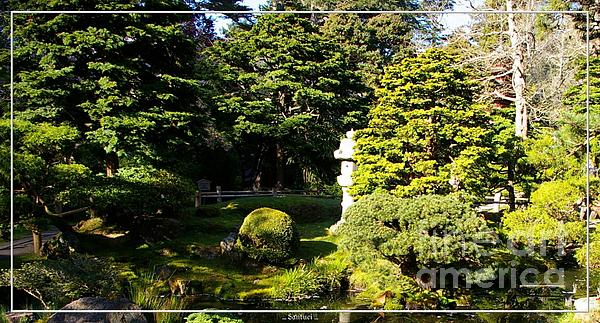 San Francisco Golden Gate Park Japanese Tea Garden 1 Print by Robert Santuci