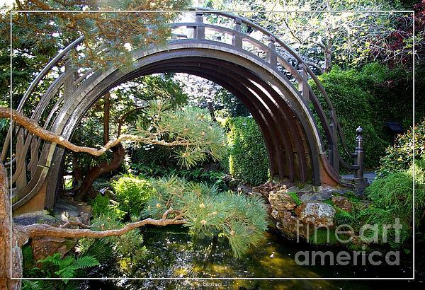 San Francisco Golden Gate Park Japanese Tea Garden 4 Print by Robert Santuci