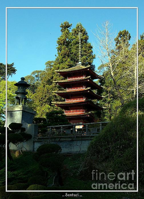 San Francisco Golden Gate Park Japanese Tea Garden 8 Print by Robert Santuci
