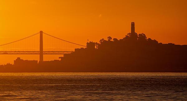 San Francisco Sunrise Print by Alexis Birkill