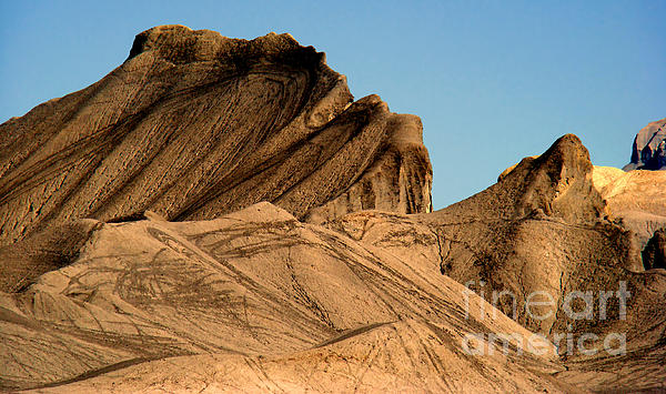 Sand Dunes In Capital Reef Print by Eva Kato