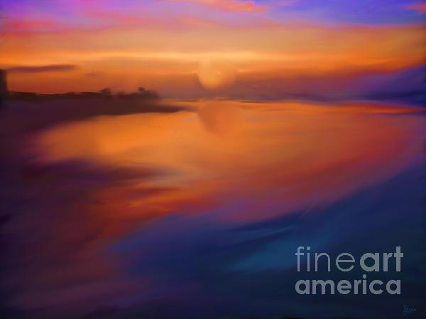 Sanibel Sunrise Print by Jeff Breiman