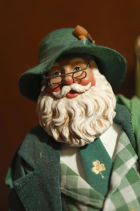 Santa Claus - Antique Ornament - 23 Print by Jill Reger