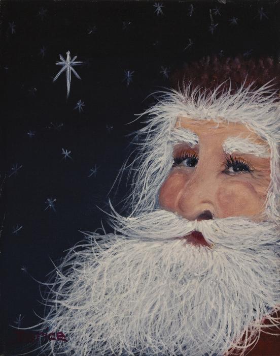 Santa Claus Print by Darice Machel McGuire