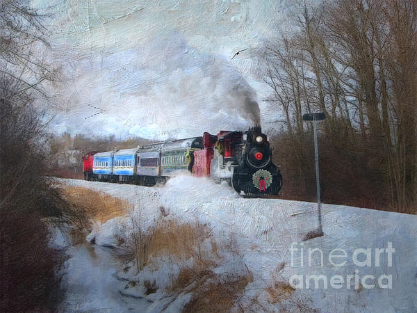 Lianne Schneider - Santa Train - Waterloo Central Railway No Text