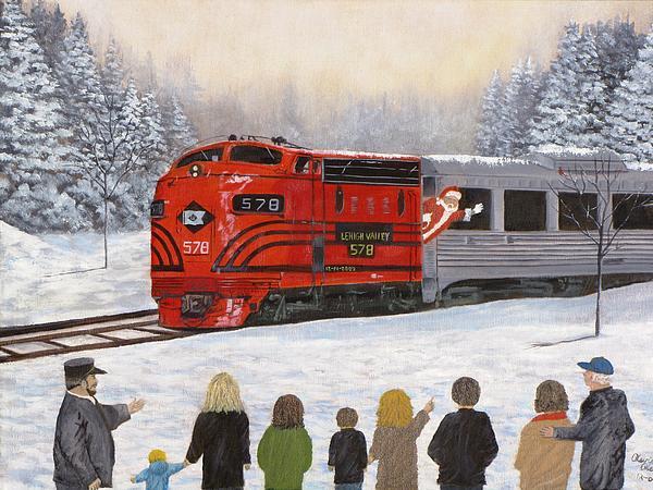 Santa's Miracles Print by Kevin F Heuman