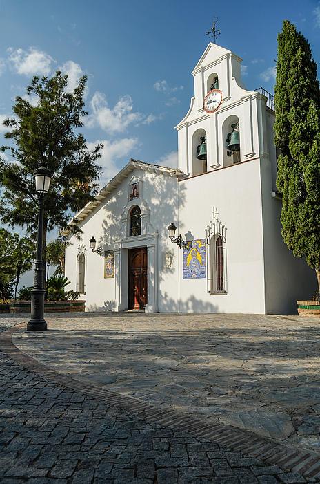 Santo Domingo Church Print by Tetyana Kokhanets