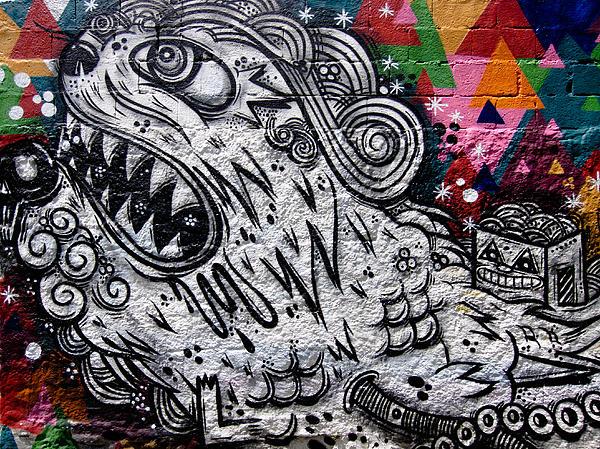 Sao Paulo Graffiti Vii Print by Julie Niemela