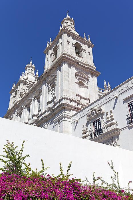 Sao Vicente De Fora Monastery Print by Jose Elias - Sofia Pereira