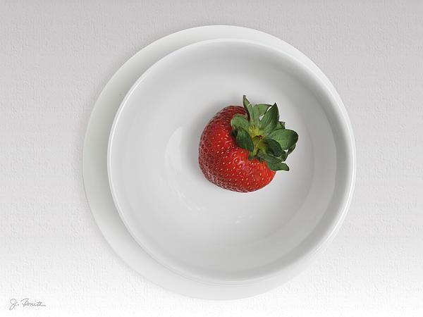 Joe Bonita - Saucer Bowl and Strawberry