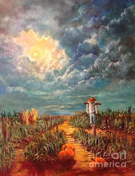 Randy Burns - Scarecrow Moon Pumpkins and Mystery