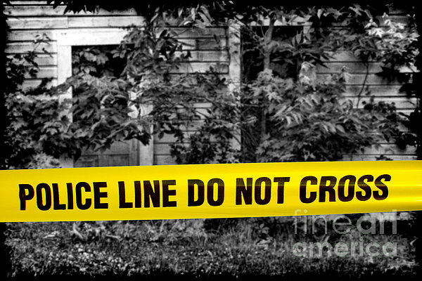 Scene Of The Crime Print by Olivier Le Queinec