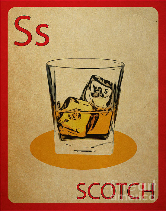Mynameisjz JZ - Scotch Vintage Flashcard