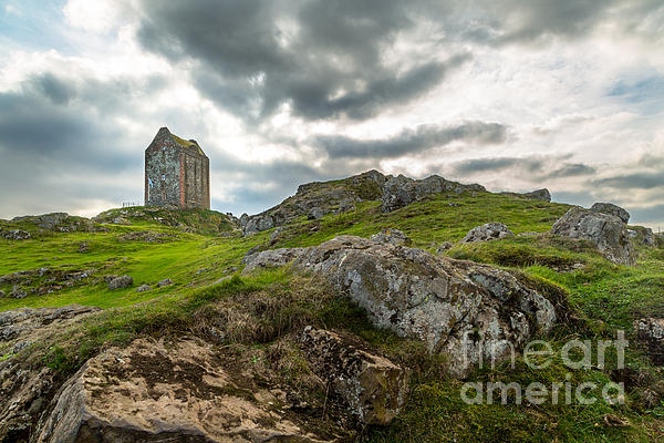 Scottish Borders - Smailholm Tower Print by Matt  Trimble