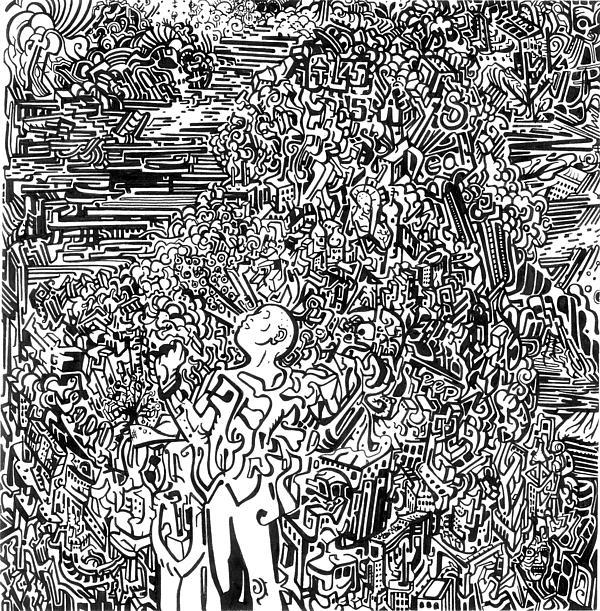 Scream Print by Zachary Worth